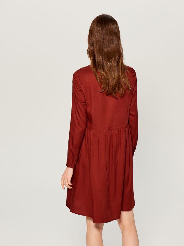 Košilové šaty - hnědá - WA242-88X - Mohito - 4