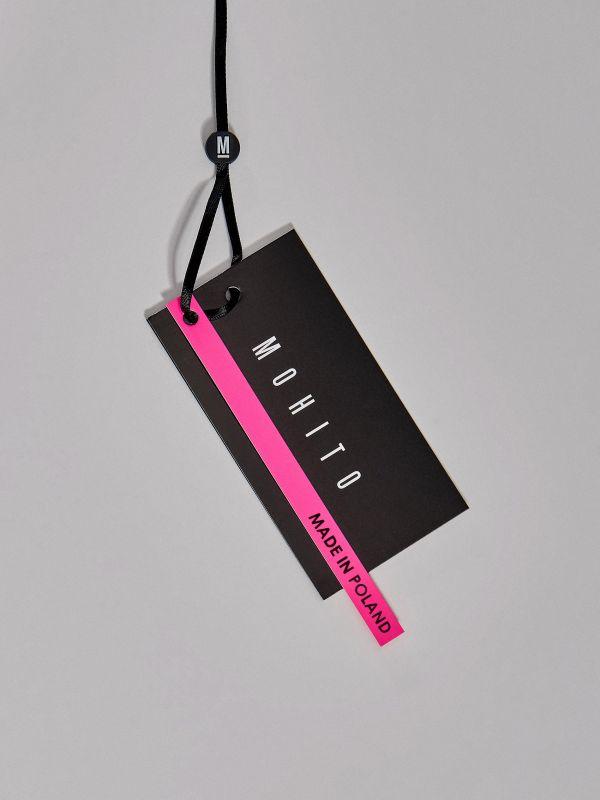 Košile sbarevnými bloky Fluo - bílá - WE185-00X - Mohito - 5