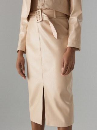 Pouzdrová sukně spáskem Gold Label