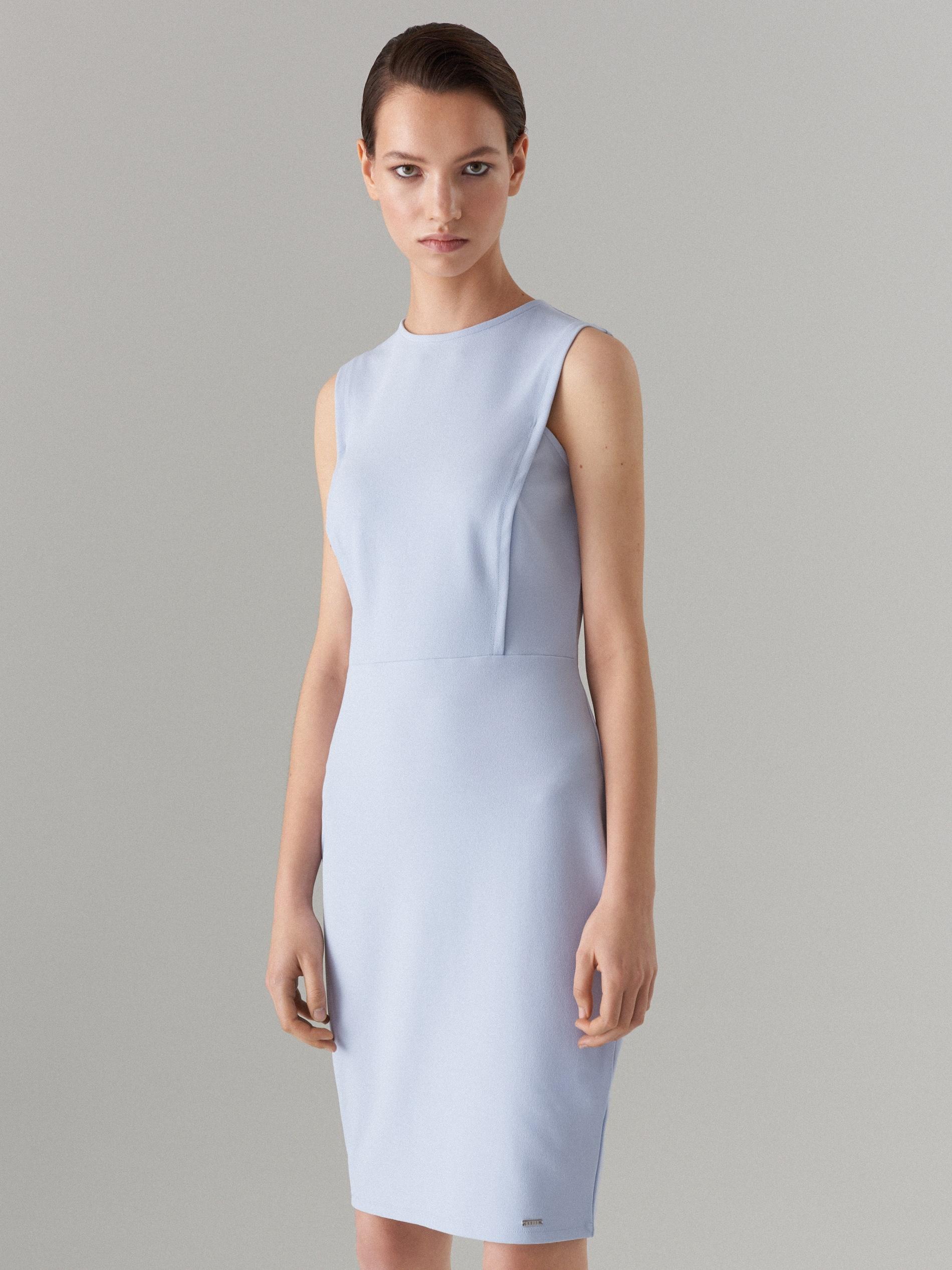 ac69a655177a Priliehavé šaty Celebration - modrá - WC790-05X - Mohito - 1
