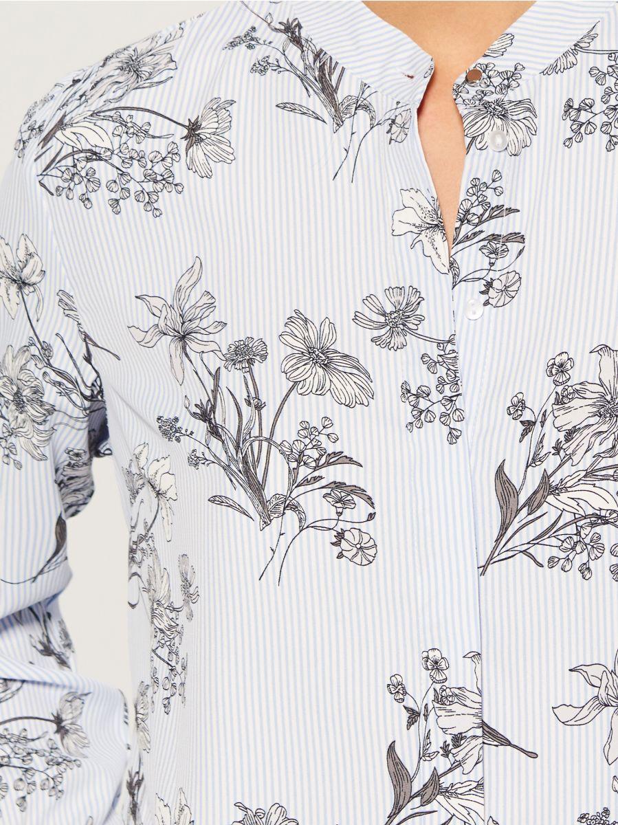 Krekls ar smalku rakstu - daudzkrāsains - VB653-MLC - Mohito - 3