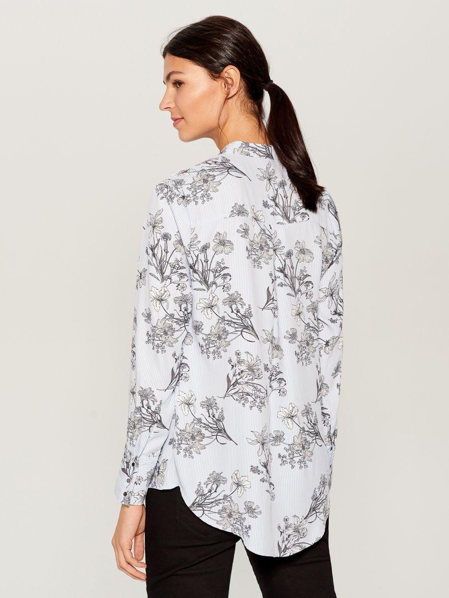 Krekls ar smalku rakstu - daudzkrāsains - VB653-MLC - Mohito - 4