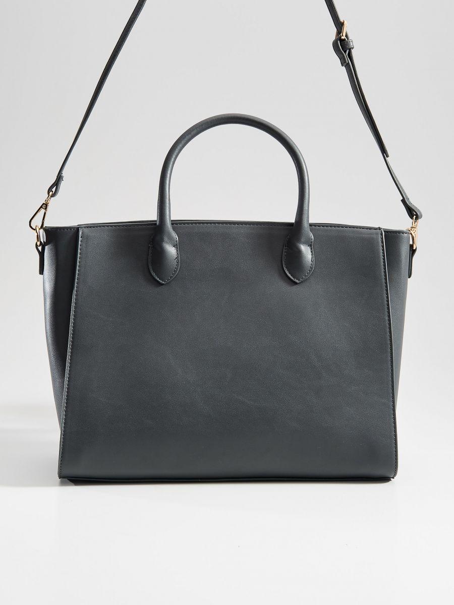 City stila soma ar pušķiem - pelēks - VD474-90X - Mohito - 2