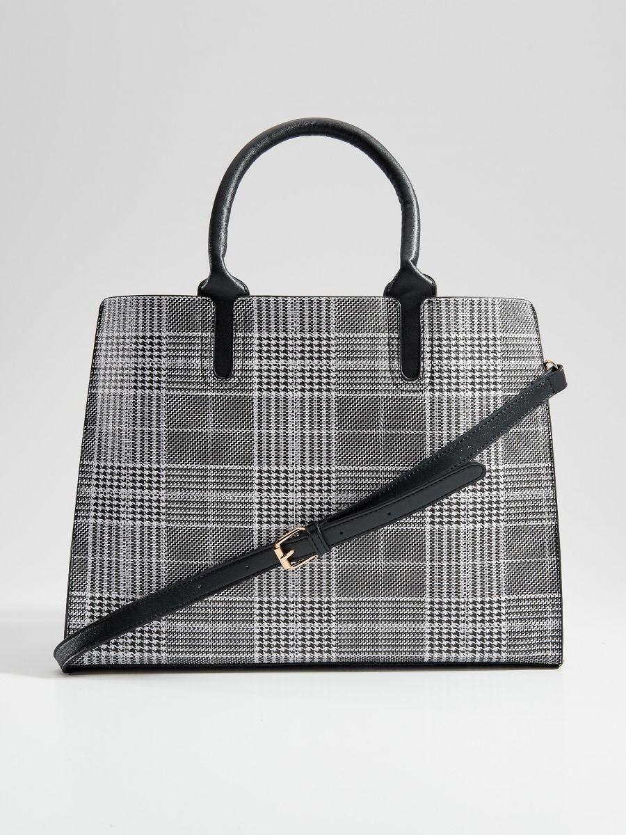 Shopper stila soma ar rūtainu zosu kājiņu rakstu  - daudzkrāsains - VD476-MLC - Mohito - 3
