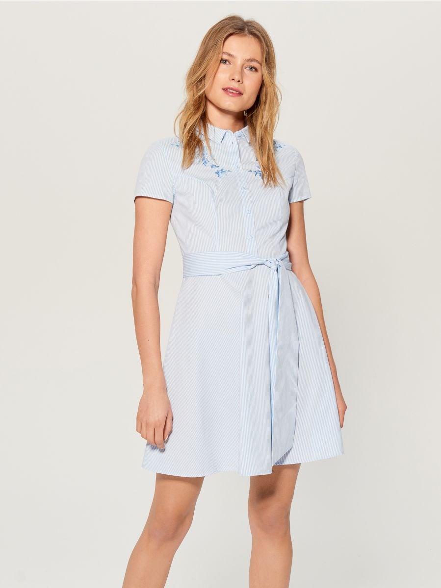 Kreklkleita ar jostu - zils - VD922-05P - Mohito - 1