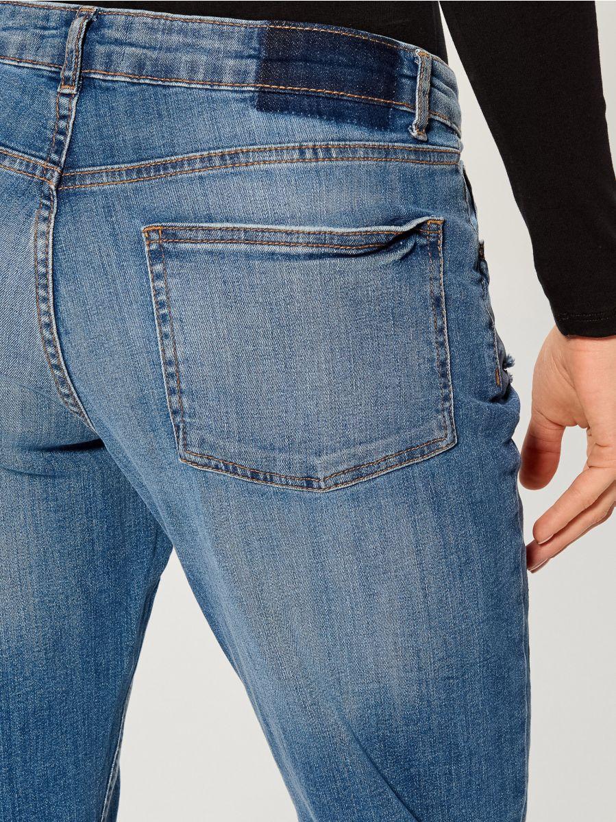 Džinsa bikses skinny boyfriend - zils - VG901-55J - Mohito - 5