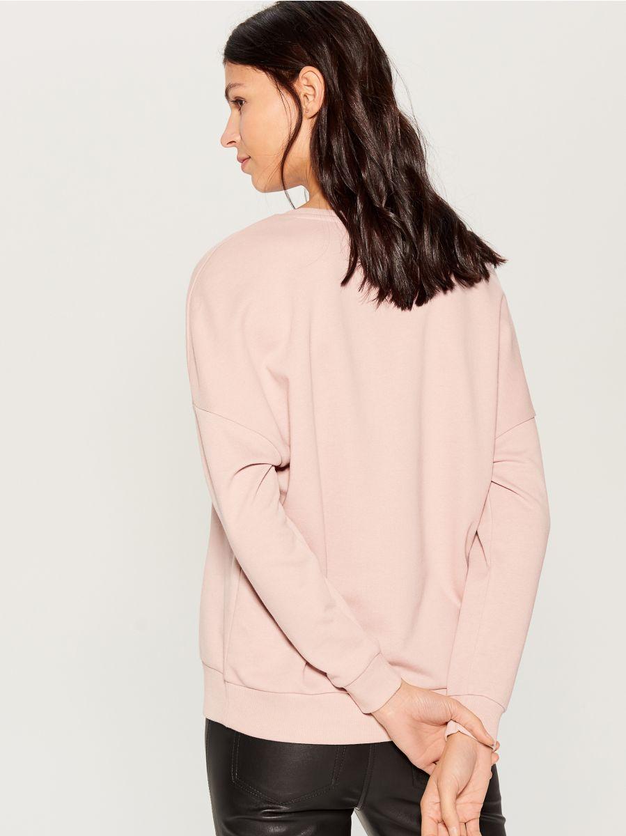 Džemperis ar izšuvumu - rozā - VN104-39X - Mohito - 3