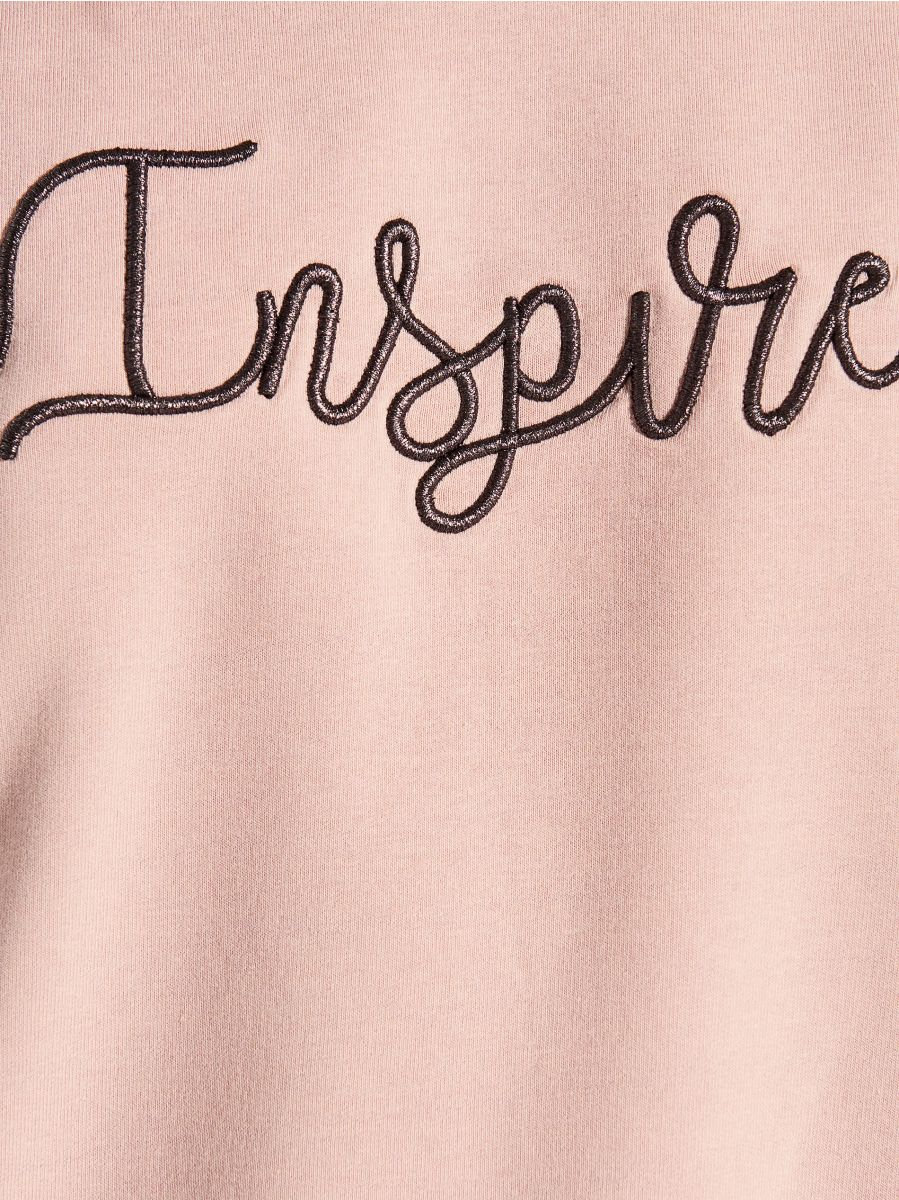 Džemperis ar izšuvumu - rozā - VN104-39X - Mohito - 4