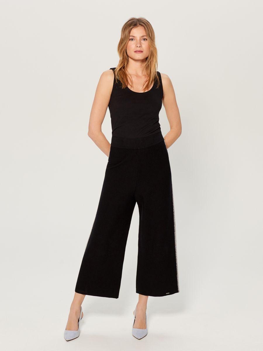 T-krekls Basic - melns - VN989-99X - Mohito - 1