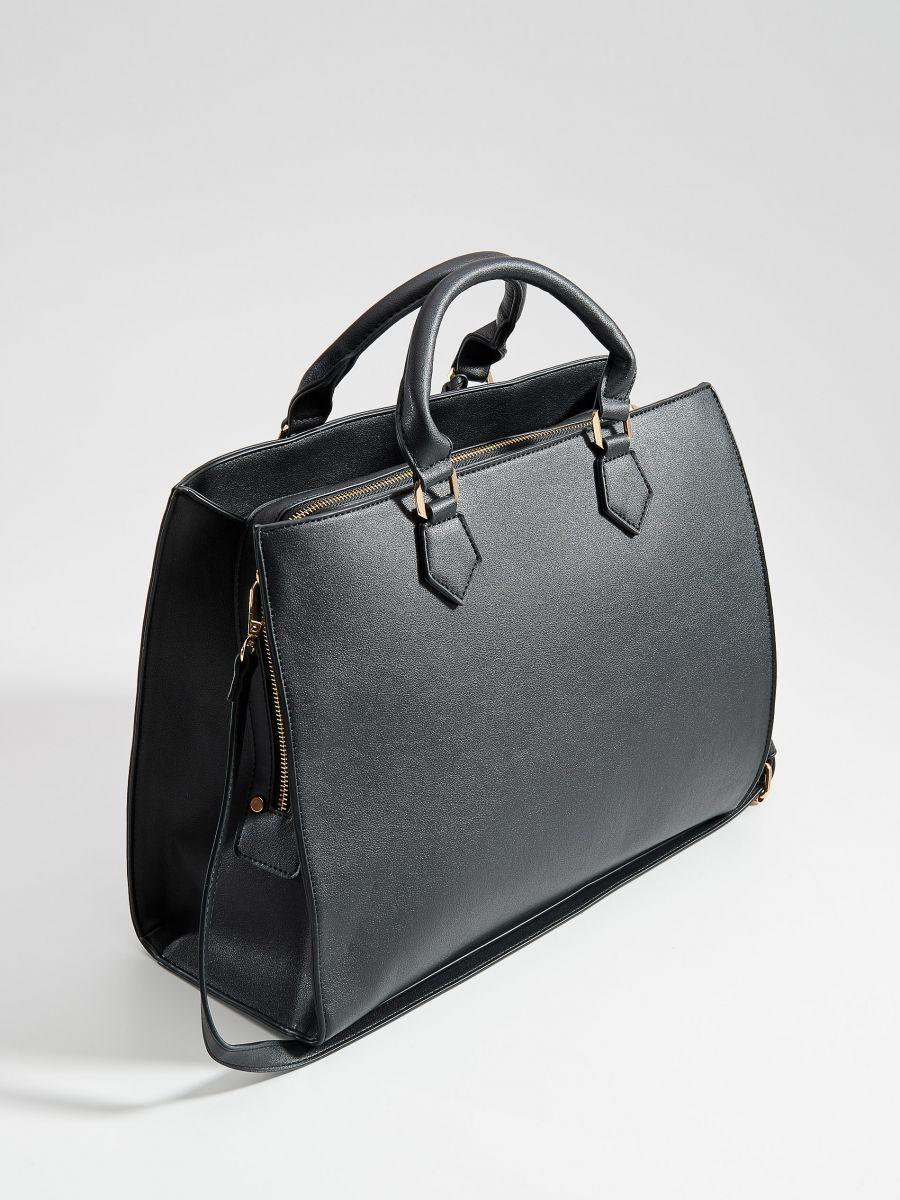 Soma city bag ar noņemamu siksnu - melns - VR676-99X - Mohito - 2