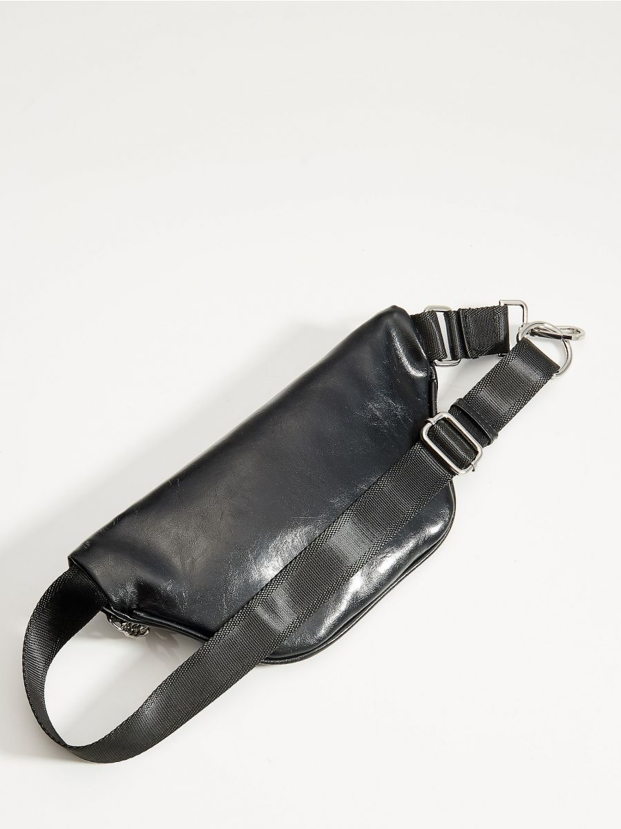 Gurnu soma ar ķēdes elementu - melns - VS781-99X - Mohito - 3