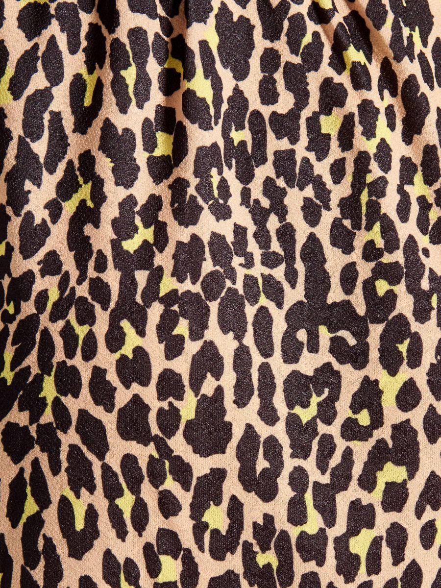 Kleita ar leoparda apdruku - brūna - VU649-83P - Mohito - 8
