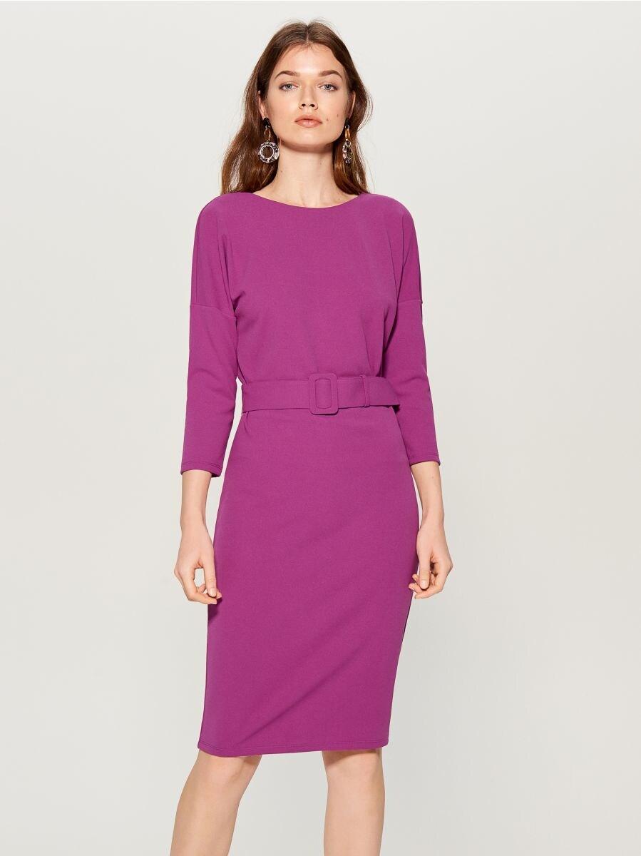 Sukienka z paskiem, MOHITO, VV654 49X