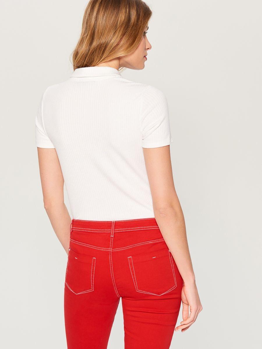 Polo krekls - balts - WA806-00X - Mohito - 3