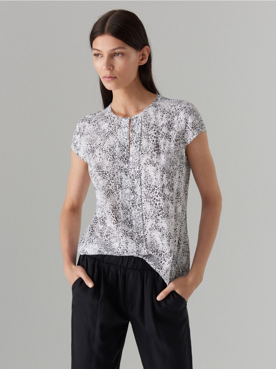 latest collection best prices superior quality Viscose blouse, MOHITO, WP262-99P