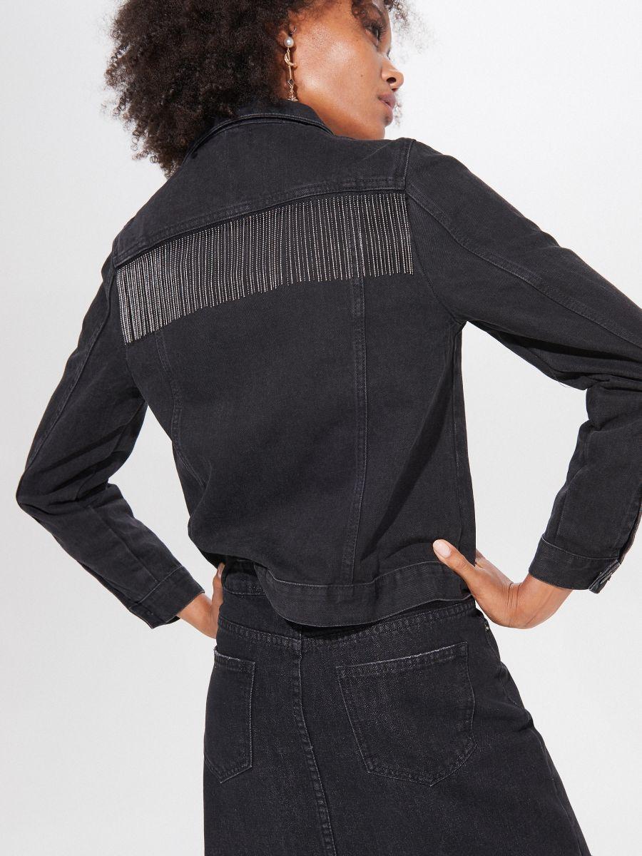 kurtki jeansowe mohito