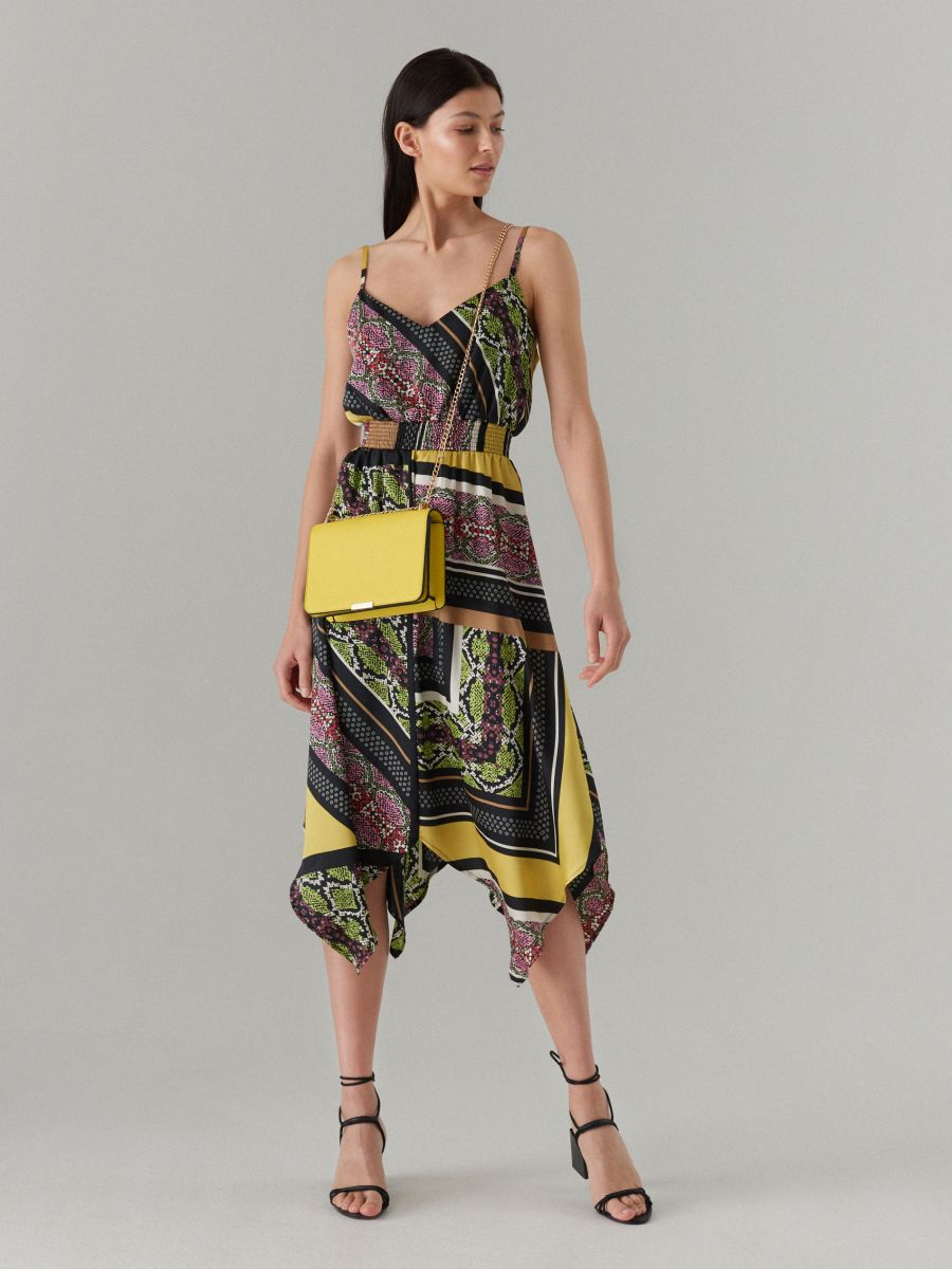 39268b20eac Mustriline varrukateta kleit - mitmevärviline - XD668-99P - MOHITO - 1