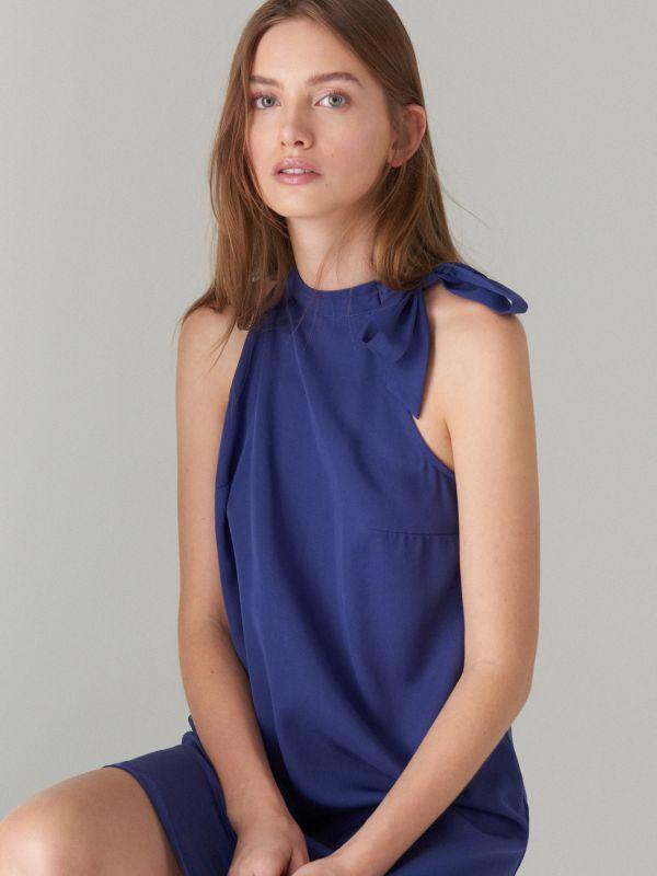 Liocela kleita - tumši zils - UN565-59X - Mohito - 1