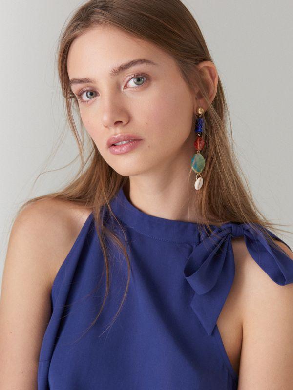 Liocela kleita - tumši zils - UN565-59X - Mohito - 2