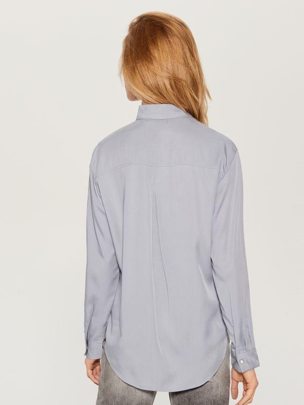 Liocela krekls - zils - VB654-05X - Mohito - 4