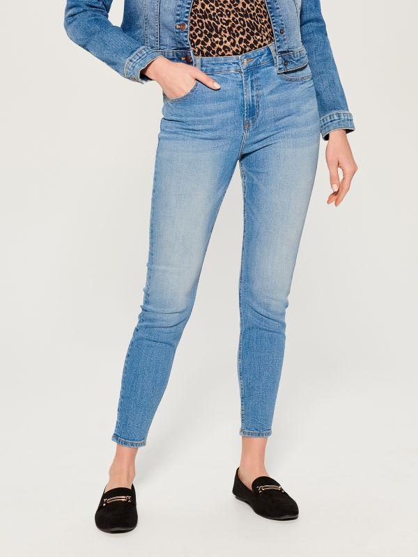 Džinsa bikses high waist skinny fit - zils - VC490-50J - Mohito - 2