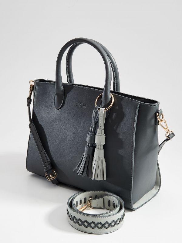 City stila soma ar pušķiem - pelēks - VD474-90X - Mohito - 1