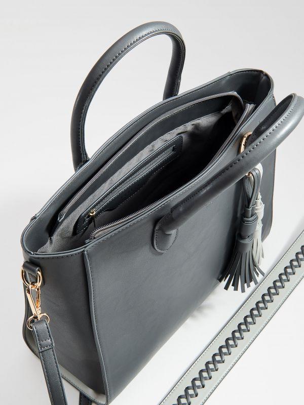 City stila soma ar pušķiem - pelēks - VD474-90X - Mohito - 3