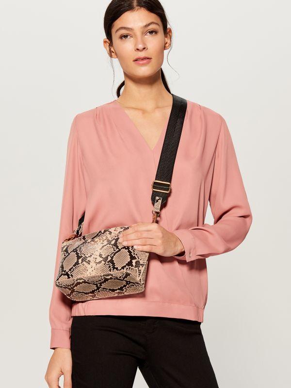 Maza soma ar platu siksnu - rozā - VD483-03X - Mohito - 1