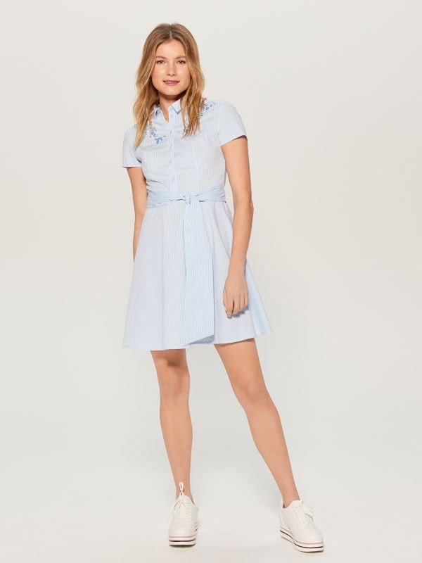 Kreklkleita ar jostu - zils - VD922-05P - Mohito - 2