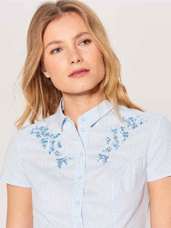 Kreklkleita ar jostu - zils - VD922-05P - Mohito - 3