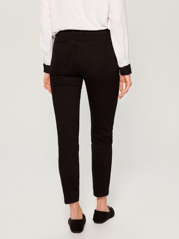 Džinsa bikses high waist skinny fit - melns - VG897-99J - Mohito - 4