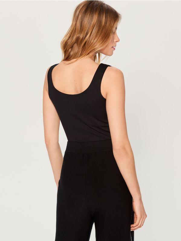 T-krekls Basic - melns - VN989-99X - Mohito - 3