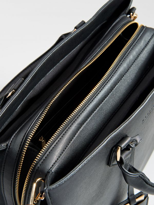 Soma city bag ar noņemamu siksnu - melns - VR676-99X - Mohito - 3