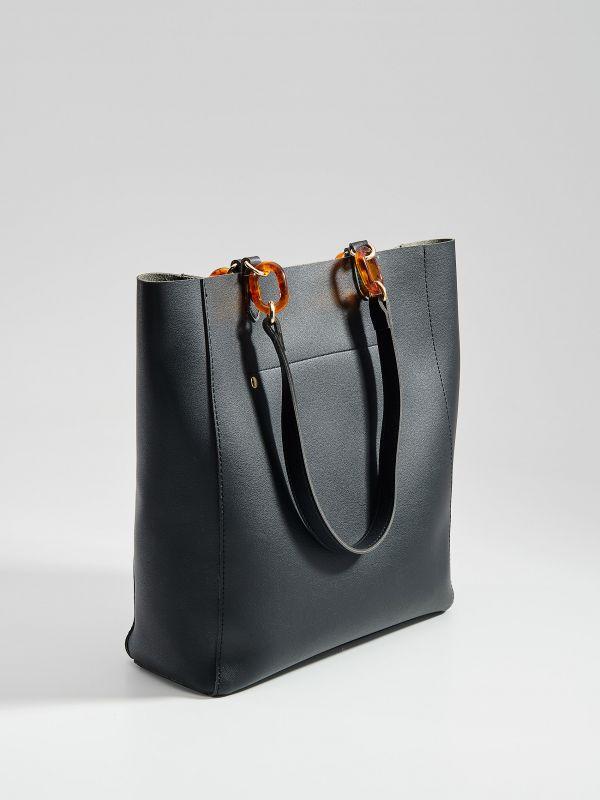 Shopper soma - melns - VS783-99X - Mohito - 3