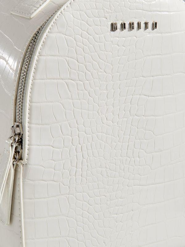 Mugursoma ar čūskādas apdruku  - balts - VV549-00X - Mohito - 5