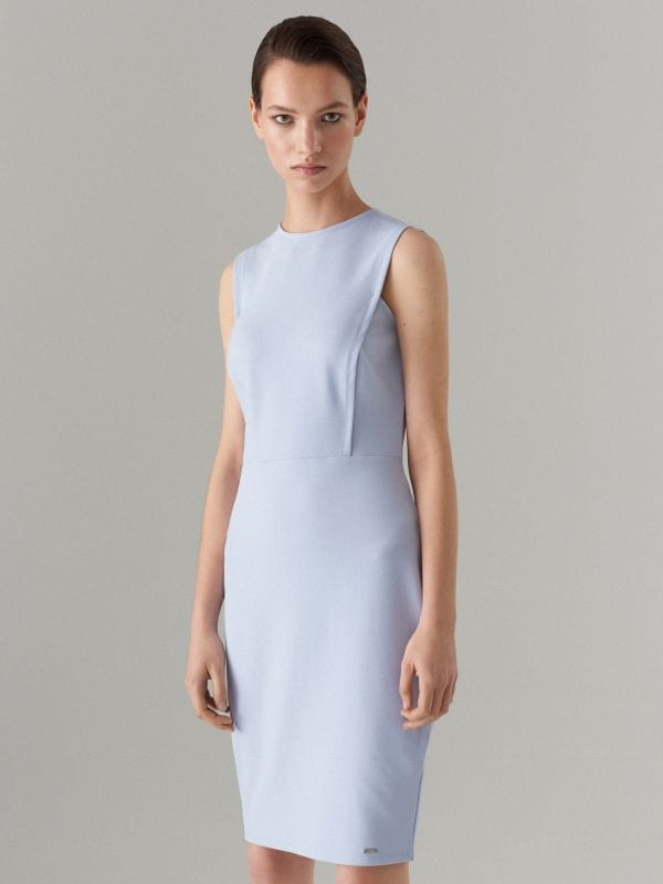 Pieguļoša kleita Celebration - zils - WC790-05X - Mohito - 1