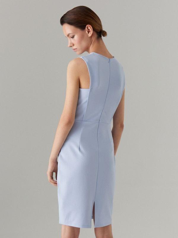 Pieguļoša kleita Celebration - zils - WC790-05X - Mohito - 3