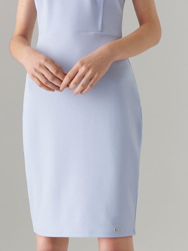 Pieguļoša kleita Celebration - zils - WC790-05X - Mohito - 4