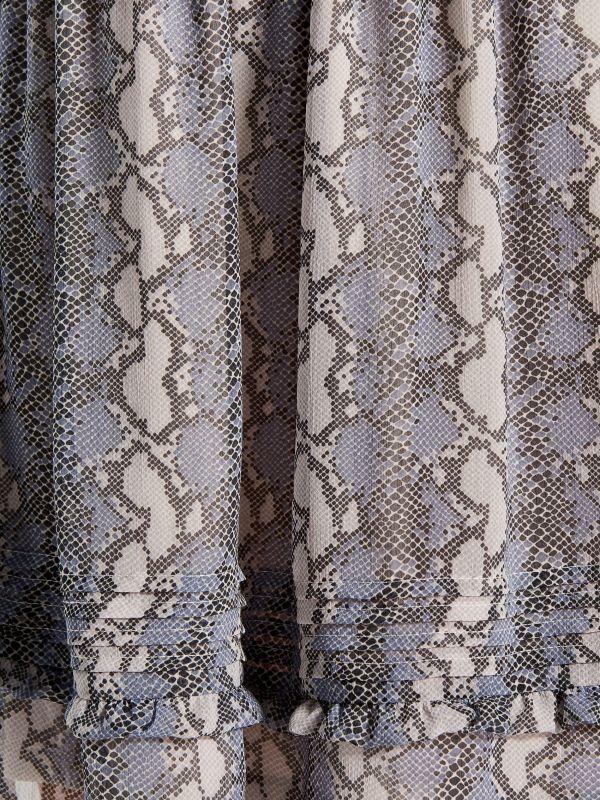 Kleita ar čūskādas apdruku - gaiši pelēks - WG187-09P - Mohito - 5