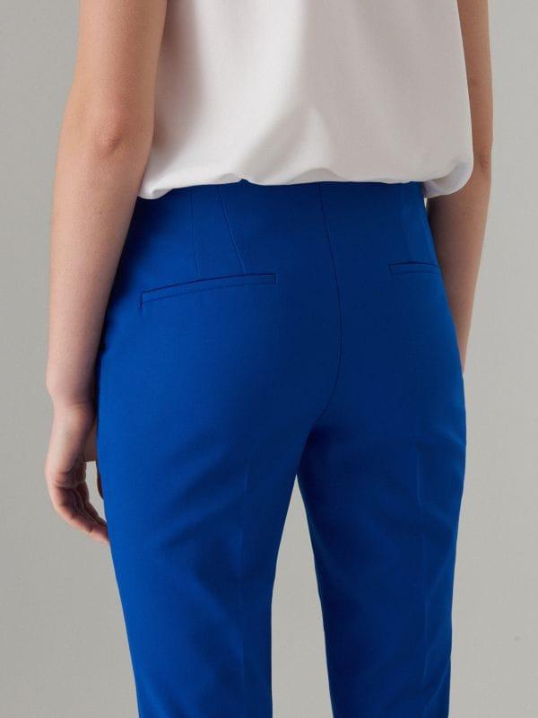 Cigaretės formos kelnės - tamsiai mėlyna - WM784-59X - Mohito - 5