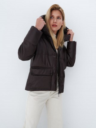 Faux leather jacket Eco Aware