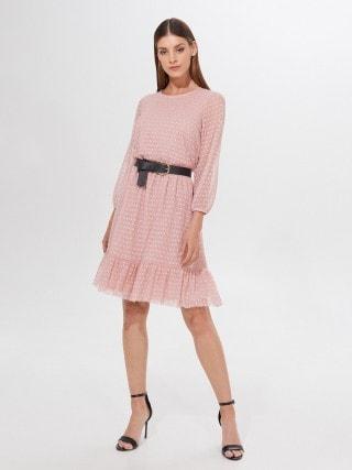 Plumeti audinio suknelė