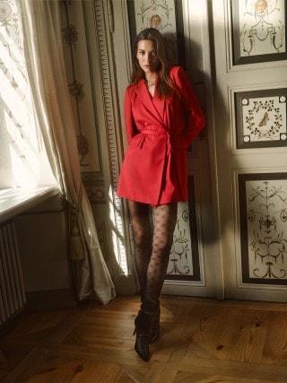 Obleka v slogu suknjiča