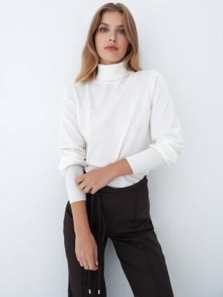Пуловер с водолазка Eco Aware