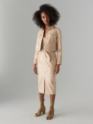 Puzdrová sukňa s opaskom Gold Label