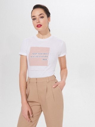 Marškinėliai su spaudiniu