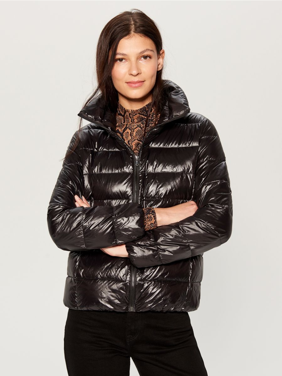 Down filled insulated jacket - black - UN249-99X - Mohito - 2