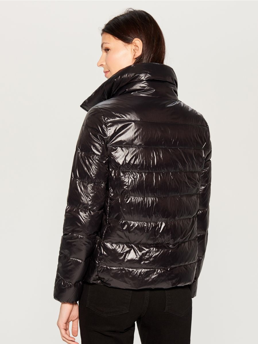Down filled insulated jacket - black - UN249-99X - Mohito - 4