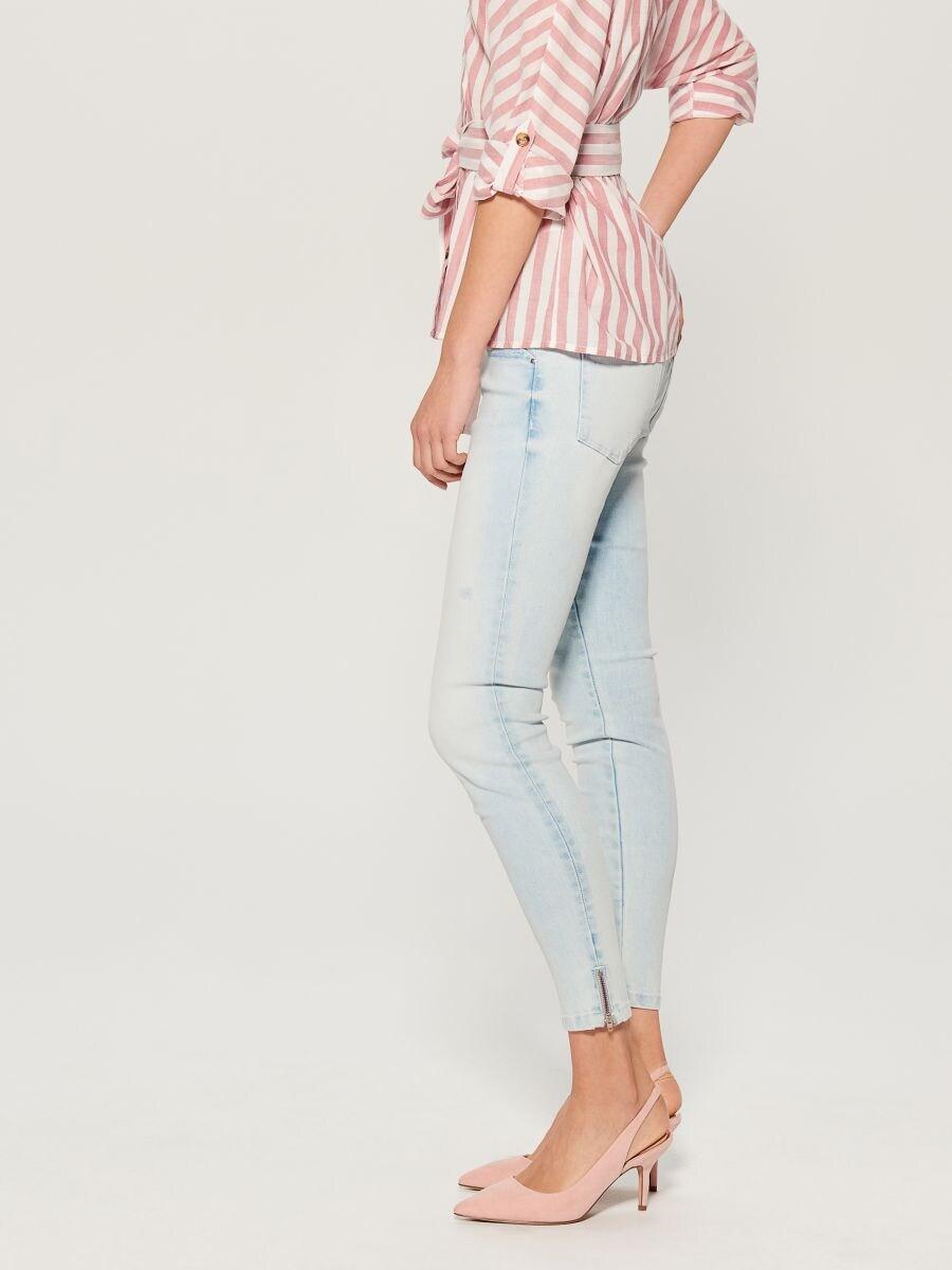 Skinny fit jeans - blue - UR495-05J - Mohito - 2