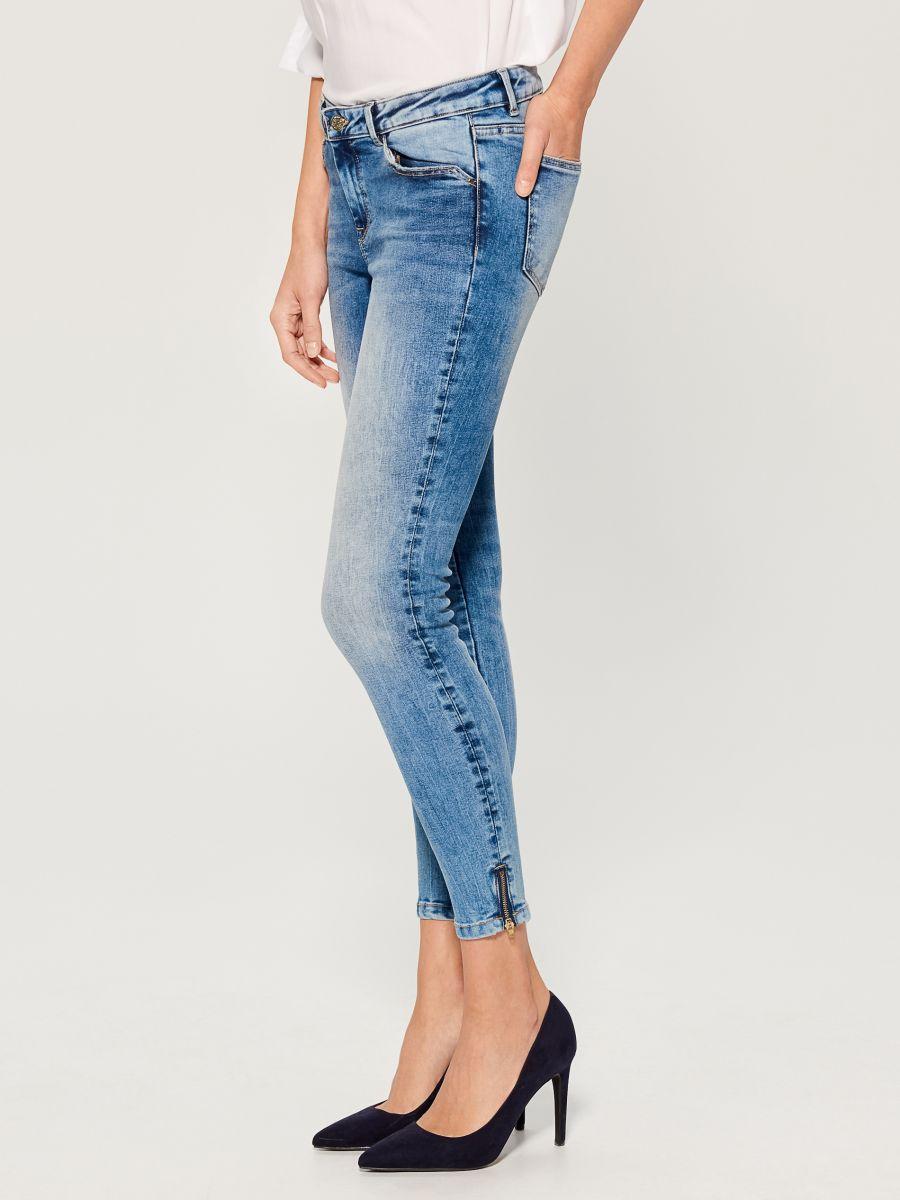 Skinny fit jeans - blue - UR495-50J - Mohito - 2